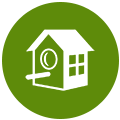 Homeaway icon.